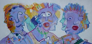 les trois faces